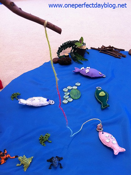 Kiddy crafts fishing cleanhousegal for Fish fishing games