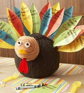 Yarn Thankful Turkey