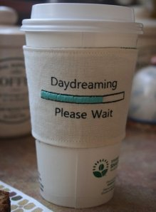daydreaming cup cozy
