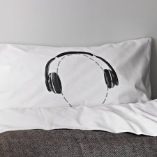 headphone pillowcase