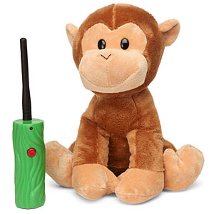 hide and seek plush monkey