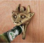 gargoyle bottle opener