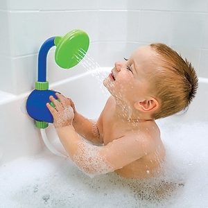 Kid's Shower Head and Bath Toy