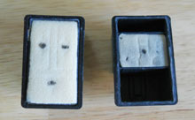 HP300 printer ink cartridge from 2002 (left) and 2010 (right).