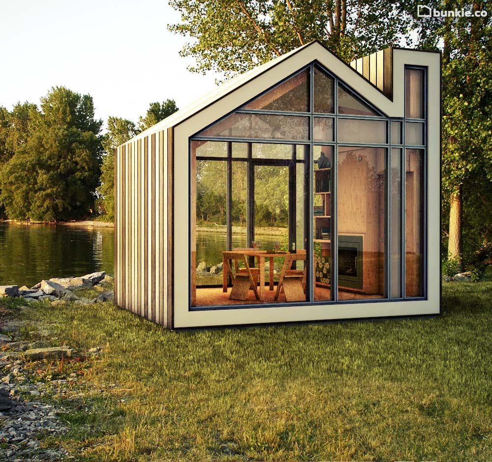 I just ran across this site www.bunkie.co and I SO WANT THIS! I'm tempted  to go find a little plot of land and just go for it.